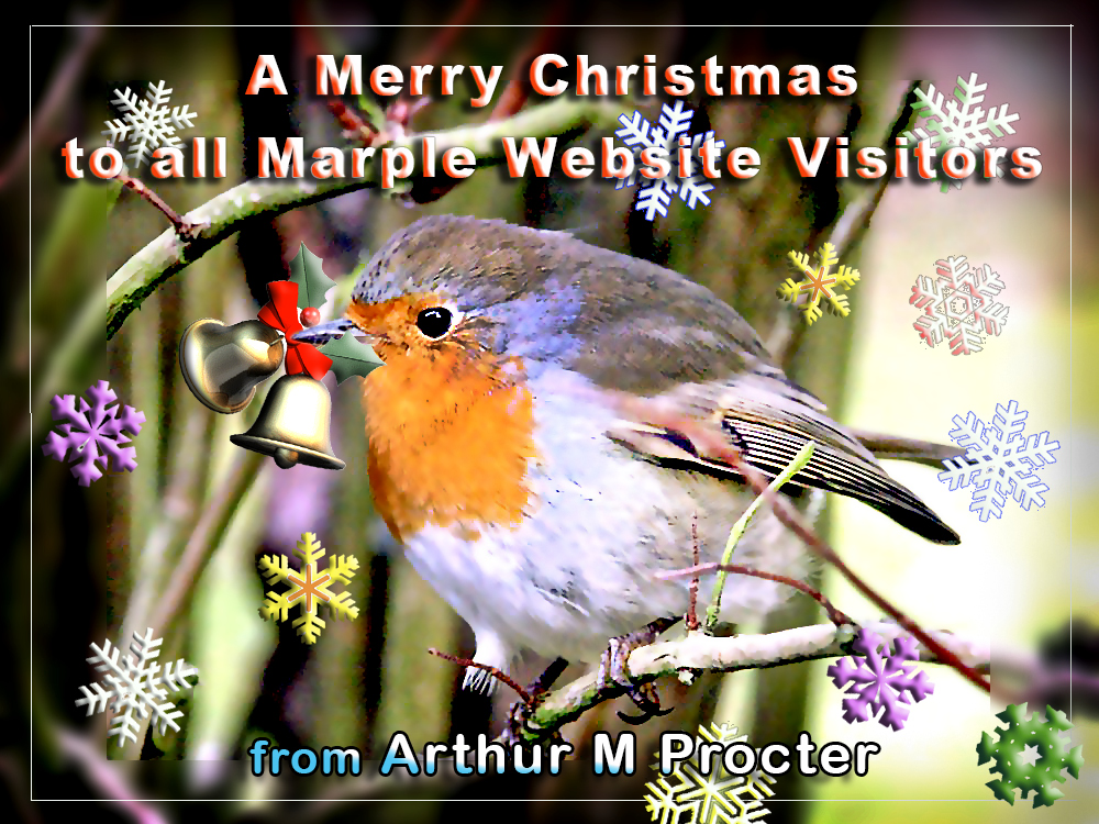 Merry Christmas from Arthur Procter