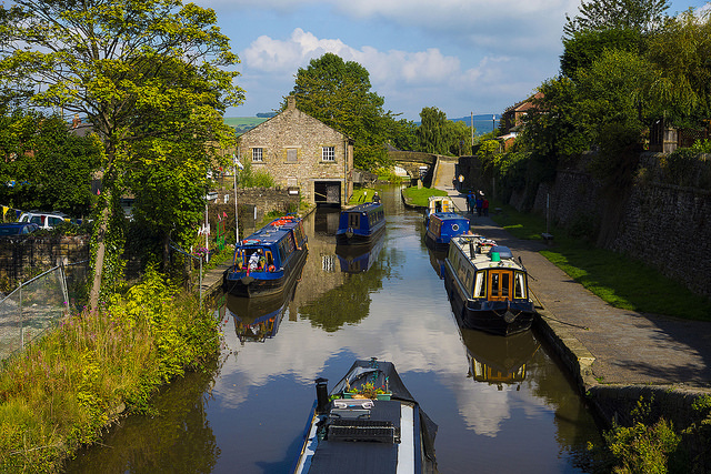 Marple Wharf from Church Lane - Jake Taylor