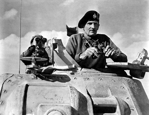 Field Marshall Bernard Montgomery in 1942