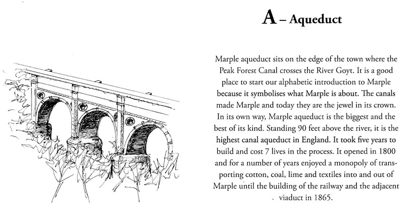 A is for Aqueduct: Marple Aqueduct