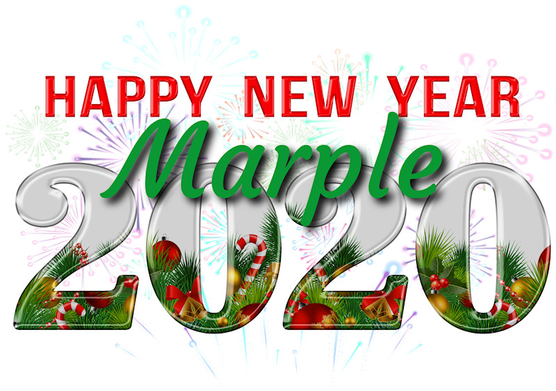 Happy New Year Marple Folk!