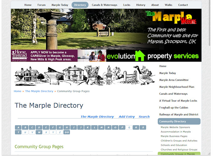 The Marple Community Directory