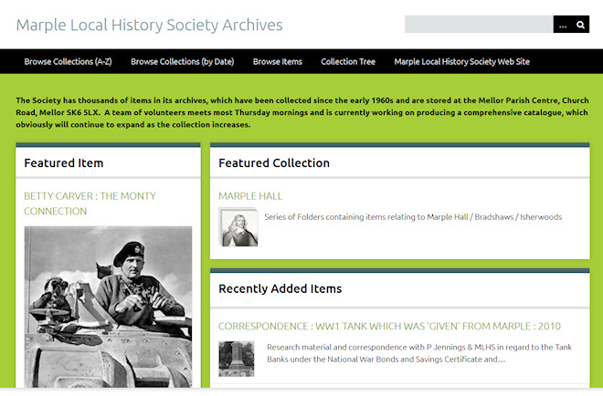 Marple Local History Society Archives