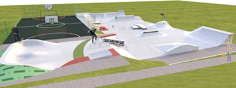 Plans for Marple Skatepark Phase II