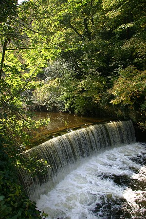 Oldknow's Weir on the River Goyt