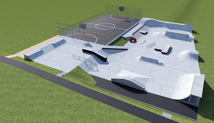 Marple Skatepark Phase I & II - the full picture
