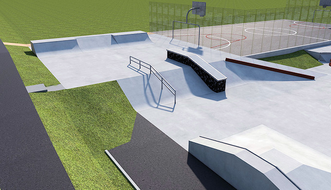 Marple Skatepark Phase 2 final design