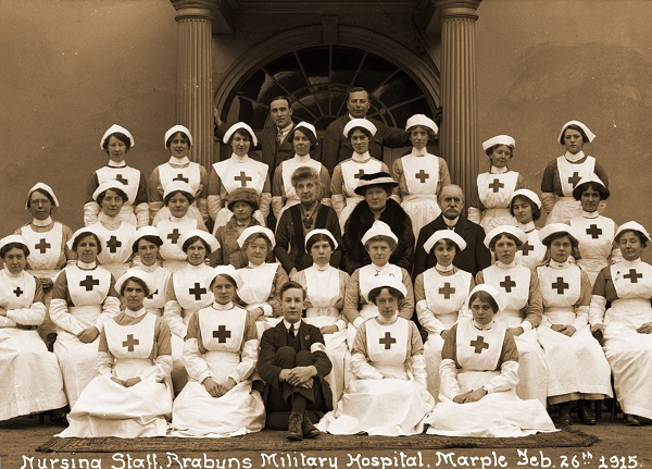 February - Wartime Nurses at Brabyns Hall