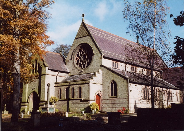 October - All Saints' Church - M.Whittaker
