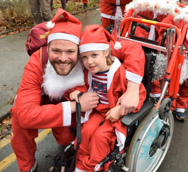 Marple Santa Dash 2018