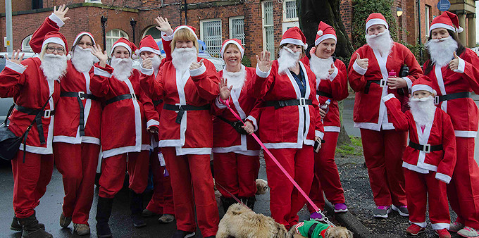 Marple Santa Dashers