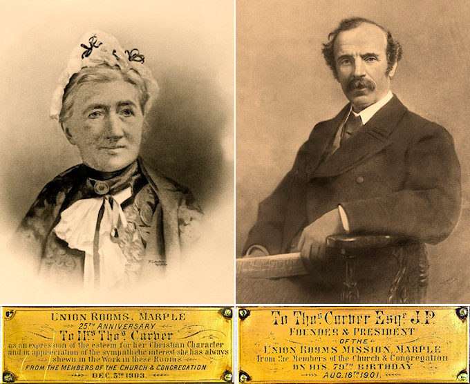 Thomas and Hannah Carver