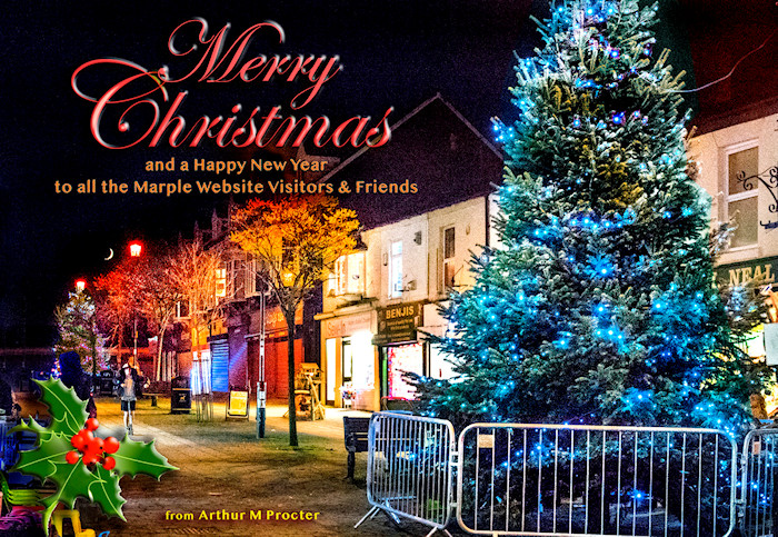 Merry Christmas 2019 from the Marple Website